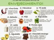 alimentos para evitar envejecimiento #Infografía #Salud #Alimentación