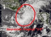 """forma depresión tropical """"2-E"""", segunda temporada Pacífico"""