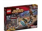 Revelados sets LEGO Guardianes Galaxia