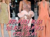 Alfombra roja premios cfda 2014