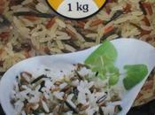 Mezcla arroz vaporizado, salvaje rojo Mercadona