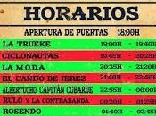 Horarios festival Extremúsika 2014