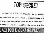 Proyecto Aquarius: ALTO SECRETO