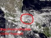 Sistema baja presión Golfo México podría evolucionar ciclón tropical