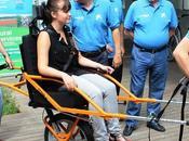 Málaga estrena primera silla adaptada para senderismo personas movilidad reducida Andalucía