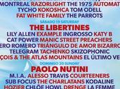 cada cerca: Libertines, Kasabian,Paul Weller, Jake Bugg, Tame Impala, Femme, Klaxons...
