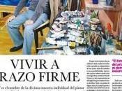 Vivir trazo firme nota prensa Diario Peruano sobre décima muestra individual pintor Iván Fernández-Dávila