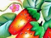 Cómo pintar fresas tela para cocina
