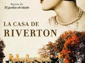 Reseña casa Riverton, Kate Morton