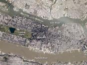 York City desde espacio