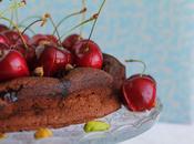 Tarta chocolate cerezas maceradas llega #verano