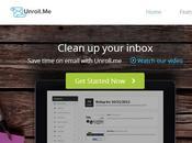 Unroll.me Analiza cuenta correo permite desuscribirse listas servicios