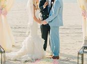 Decoración para boda playa