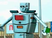 Inventan congo robot gigante para controlar trafico