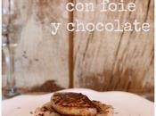 receta: alubias Santa foie virutas chocolate pimienta rosa