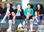 Rousseff salvó: aunque discurso bienvenida, abucheada inauguración Brasil 2014