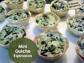 Mini Quiche Espinacas
