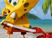 "Afiche filme animado ""Bob Esponja Héroe Fuera Agua"""