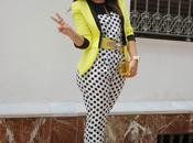 Outfit Love Yellow Polka Dots