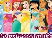 Princess makeup bella durmiente