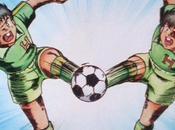 Liga japonesa fútbol recrea Supercampeones (Captain Tsubasa)
