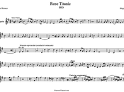 Rose Titanic James Horner partitura para Trompeta Tema Banda Sonora