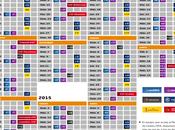 Calendario Liga BBVA 2014-205 Futbol Español