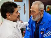 Nota Fidel Castro sobre mensaje Maradona