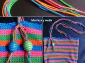 Tutorial crochet: Bolso verano rayas