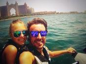 Fernando Alonso Dasha Kapustina, vacaciones Dubái