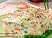 Pechuga pavita ensalada rusa