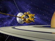 Cassini: Diez años Saturno