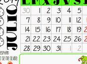 Calendario julio 2014 {listo para imprimir}
