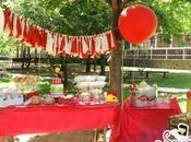 Fiesta Picnic Rojo Blanco