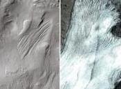 Marte tuvo glaciares parecidos Tierra