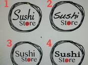 Diseño gráfico: Logotipo Sushi Store