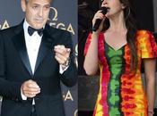 George Clooney quiere Lana cante boda