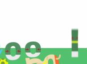 Recrean falta partido México Holanda #brasil2014 estilo google doodle