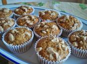 Magdalenas manzana crumble Apple muffins