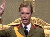 Luxemburgo: Proclamación Gran Duque Enrique