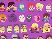 Esta colección personajes clásicos Bubble Bobble adorable