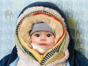 Proteger bebé frío