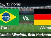 Partido Brasil Alemania Semifinal Mundial 2014