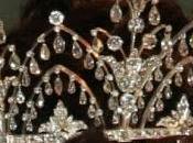 Tiara Lágrimas Diamantes Casa Real Dinamarca