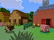 Minecraft actualiza Xbox texturas cartoon