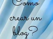 Como crear blog?
