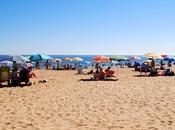 TURISTAespaña: Océano Atlántico baña Playa Punta Umbría provincia Huelva, comunidad Andalucía.