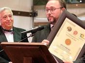 Adán Israel premiado medalla mejor Sumiller Castilla Mancha