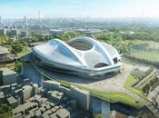Nuevas imágenes Estadio Olímpico Tokyo proyectado Zaha Hadid