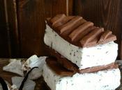 Helado Sándwich Nata Fideos Chocolate